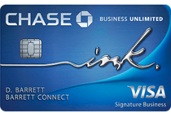 Chase Ink Business Unlimited® Credit Card