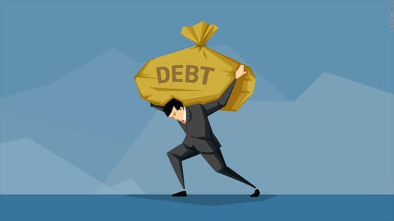 70% of Small Businesses Have Outstanding Debt Image